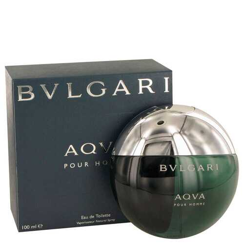 AQUA POUR HOMME by Bvlgari Eau De Toilette Spray 3.3 oz (Men)