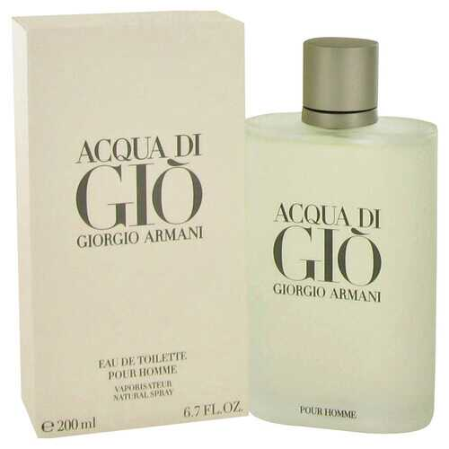 ACQUA DI GIO by Giorgio Armani Eau De Toilette Spray 6.7 oz (Men)