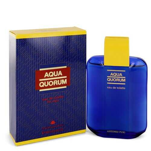 AQUA QUORUM by Antonio Puig Eau De Toilette 3.4 oz (Men)