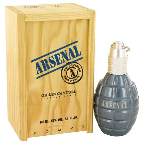 ARSENAL BLUE by Gilles Cantuel Eau De Parfum Spray 3.4 oz (Men)