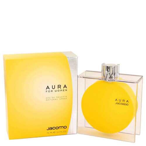 AURA by Jacomo Eau De Toilette Spray 2.4 oz (Women)