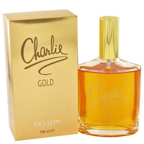 CHARLIE GOLD by Revlon Eau De Toilette Spray 3.3 oz (Women)