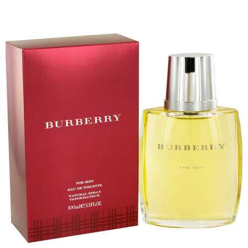 BURBERRY by Burberry Eau De Toilette Spray 3.4 oz (Men)