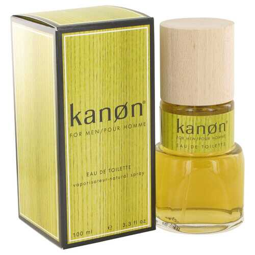 KANON by Scannon Eau De Toilette Spray (New Packaging) 3.3 oz (Men)