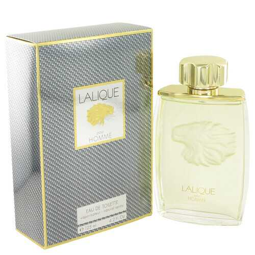 LALIQUE by Lalique Eau De Toilette Spray (Lion) 4.2 oz (Men)