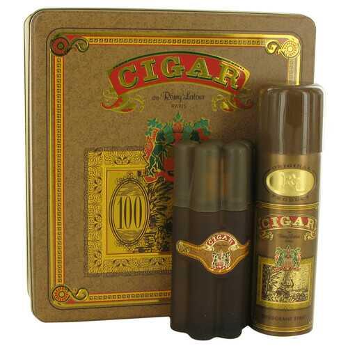 CIGAR by Remy Latour Gift Set -- 3.3 oz Eau De Toilette Spray + 6.6 oz Deodorant (Men)
