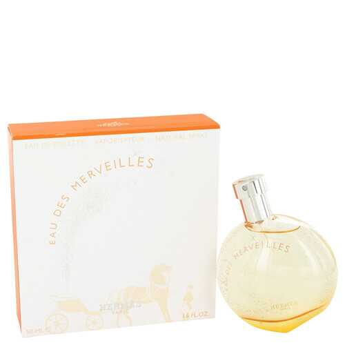 Eau Des Merveilles by Hermes Eau De Toilette Spray 1.6 oz (Women)