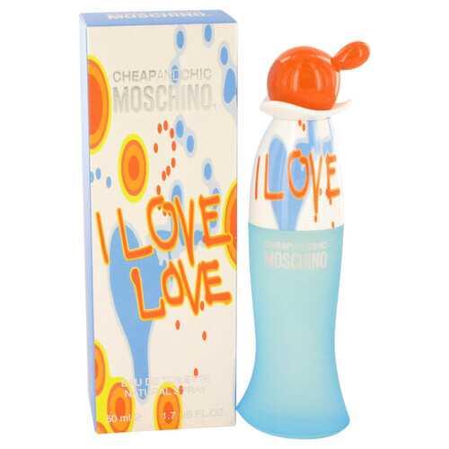 I Love Love by Moschino Eau De Toilette Spray 1.7 oz (Women)