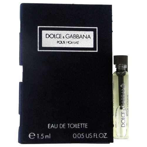 DOLCE & GABBANA by Dolce & Gabbana Vial (sample) .06 oz (Men)