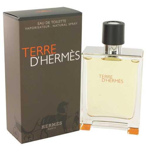 Terre D'Hermes by Hermes Eau De Toilette Spray 3.4 oz (Men)