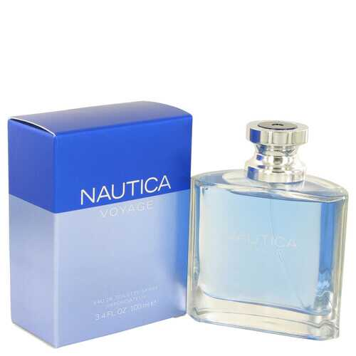 Nautica Voyage by Nautica Eau De Toilette Spray 3.4 oz (Men)