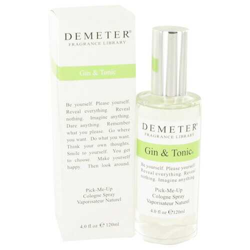 Demeter Gin & Tonic by Demeter Cologne Spray 4 oz (Men)