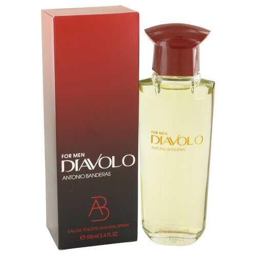 Diavolo by Antonio Banderas Eau De Toilette Spray 3.4 oz (Men)