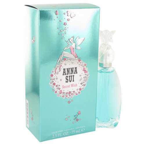Secret Wish by Anna Sui Eau De Toilette Spray 2.5 oz (Women)