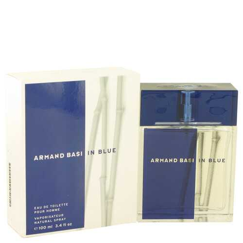 Armand Basi In Blue by Armand Basi Eau De Toilette Spray 3.4 oz (Men)