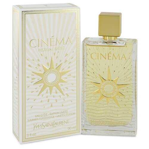 Cinema by Yves Saint Laurent Summer Fragrance Eau D'Ete Spray 3 oz (Women)