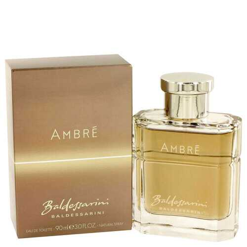 Baldessarini Ambre by Hugo Boss Eau De Toilette Spray 3 oz (Men)