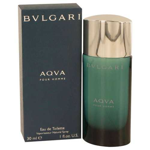 AQUA POUR HOMME by Bvlgari Eau De Toilette Spray 1 oz (Men)