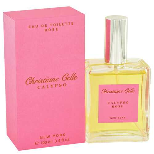 Calypso Rose by Calypso Christiane Celle Eau De Toilette Spray 3.4 oz (Women)