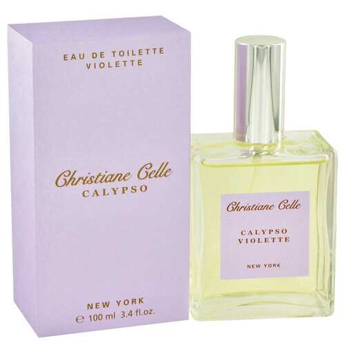 Calypso Violette by Calypso Christiane Celle Eau De Toilette Spray 3.4 oz (Women)