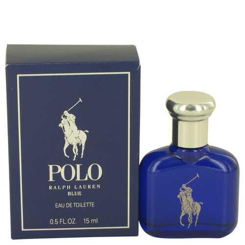 Polo Blue by Ralph Lauren Eau De Toilette .5 oz (Men)