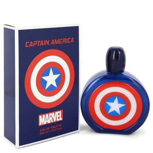 Captain America by Marvel Eau De Toilette Spray 3.4 oz (Men)