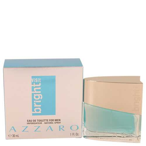 Azzaro Bright Visit by Azzaro Eau De Toilette Spray 1 oz (Men)