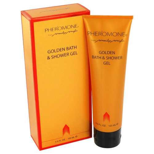 PHEROMONE by Marilyn Miglin Golden Bath & Shower Gel 4.5 oz (Women)