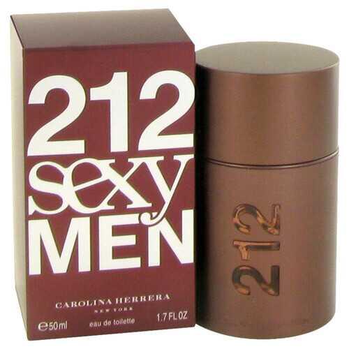 212 Sexy by Carolina Herrera Eau De Toilette Spray 1.7 oz (Men)