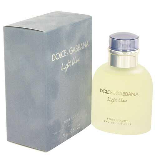 Light Blue by Dolce & Gabbana Eau De Toilette Spray 2.5 oz (Men)