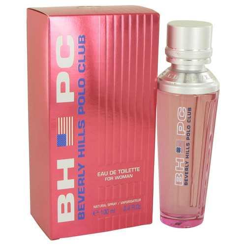 BEVERLY HILLS POLO CLUB by Beverly Fragrances Eau De Toilette Spray 3.4 oz (Women)