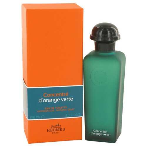 EAU D'ORANGE VERTE by Hermes Eau De Toilette Spray Concentre (Unisex) 3.4 oz (Men)