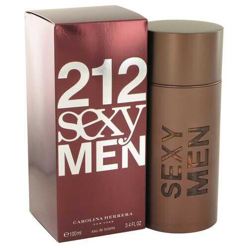 212 Sexy by Carolina Herrera Eau De Toilette Spray 3.3 oz (Men)