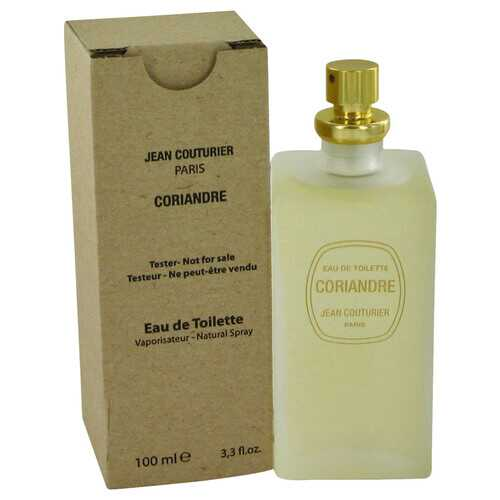 CORIANDRE by Jean Couturier Eau De Toilette Spray (Tester) 3.4 oz (Women)