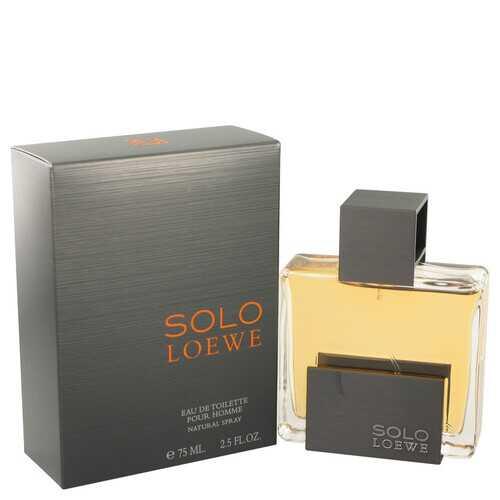 Solo Loewe by Loewe Eau De Toilette Spray 2.5 oz (Men)