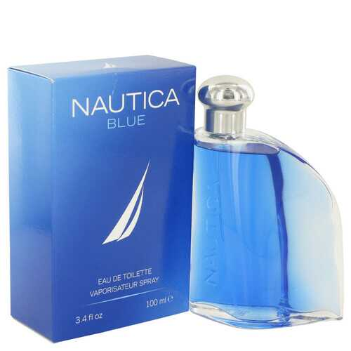 NAUTICA BLUE by Nautica Eau De Toilette Spray 3.4 oz (Men)
