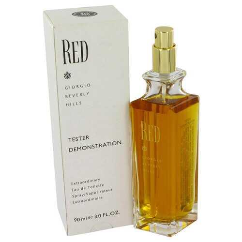 RED by Giorgio Beverly Hills Eau De Toilette Spray (Tester) 3 oz (Women)
