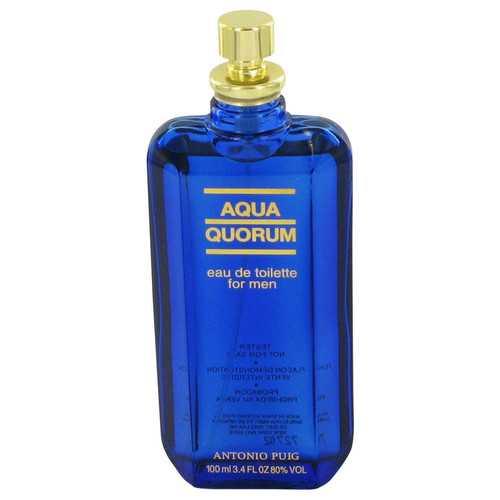AQUA QUORUM by Antonio Puig Eau De Toilette Spray (Tester) 3.4 oz (Men)