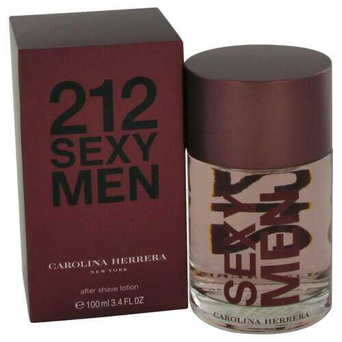 212 Sexy by Carolina Herrera After Shave 3.3 oz (Men)