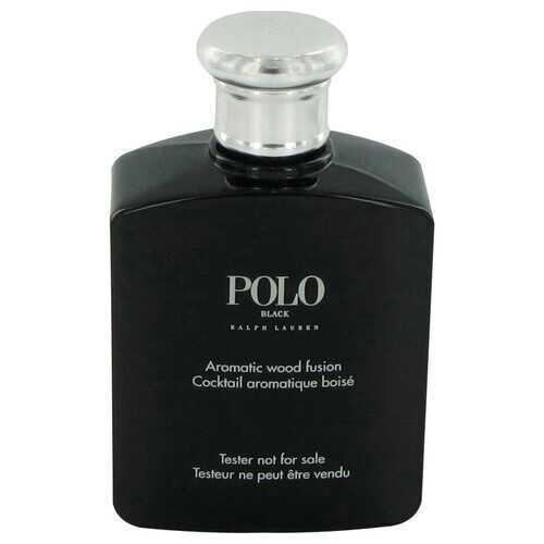 Polo Black by Ralph Lauren Eau De Toilette Spray (Tester) 4.2 oz (Men)