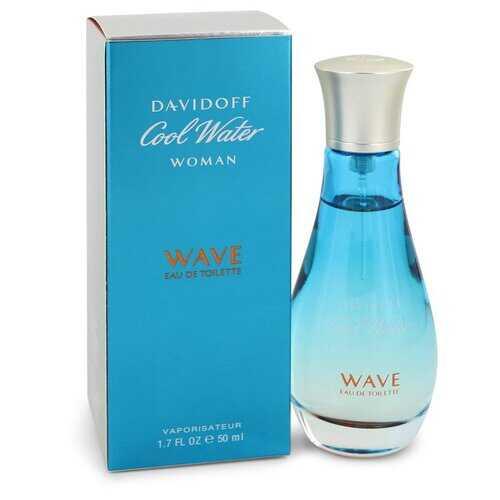 Cool Water Wave by Davidoff Eau De Toilette Spray 1.7 oz (Women)