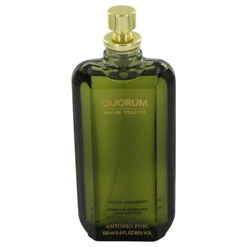 QUORUM by Antonio Puig Eau De Toilette Spray (Tester) 3.4 oz (Men)