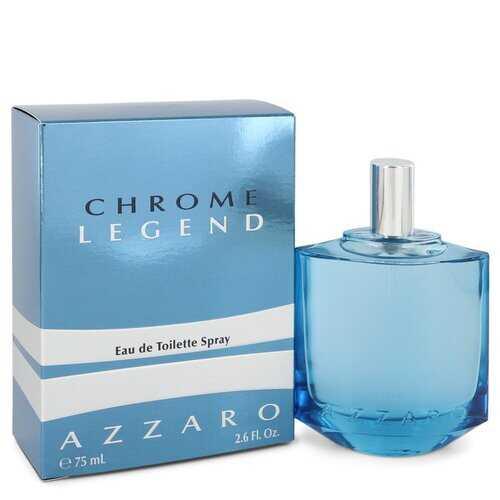 Chrome Legend by Azzaro Eau De Toilette Spray 2.6 oz (Men)