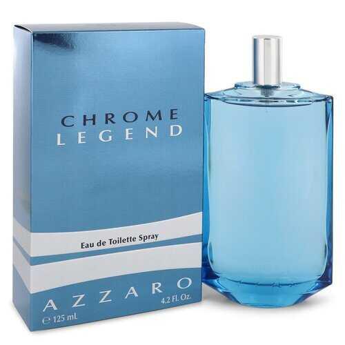 Chrome Legend by Azzaro Eau De Toilette Spray 4.2 oz (Men)