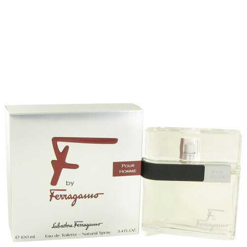 F by Salvatore Ferragamo Eau De Toilette Spray 3.4 oz (Men)