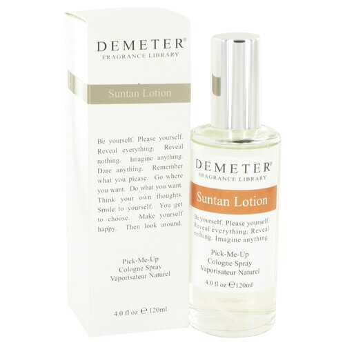 Demeter by Demeter Suntan Lotion Cologne Spray 4 oz (Women)
