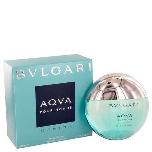 Bvlgari Aqua Marine by Bvlgari Eau De Toilette Spray 3.4 oz (Men)