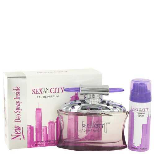 Sex In The City Lust by Unknown Eau De Parfum Spray + Free 1.7 oz Deodorant Spray 3.4 oz (Women)