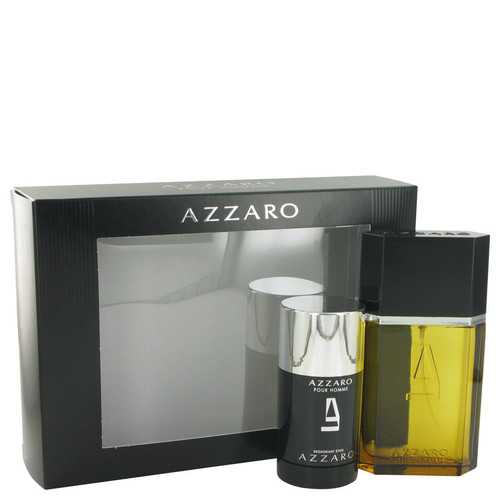 AZZARO by Azzaro Gift Set -- 3.4 oz Eau De Toilette Spray + 2.2 oz Deodorant Stick (Men)