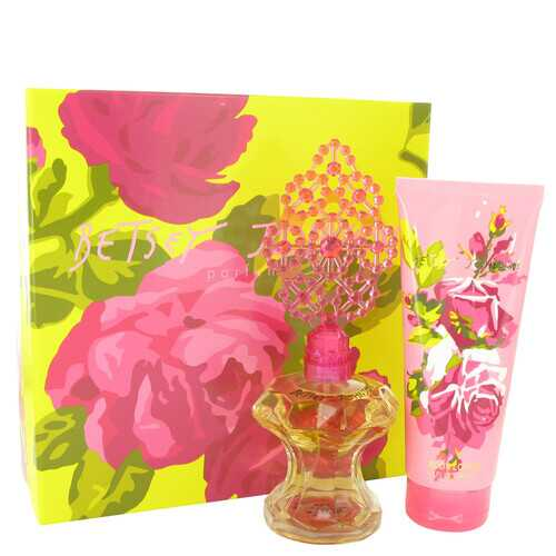Betsey Johnson by Betsey Johnson Gift Set -- 3.4 oz Eau De Parfum Spray + 6.7 oz Body Lotion (Women)
